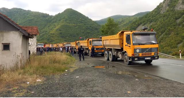 Dita e gjashtë e reciprocitetit të targave, veriu i Kosovës