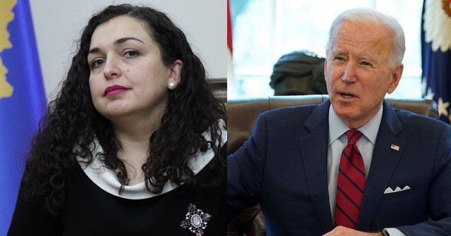 Presidenti Biden thirrje Vjosa Osmanit të bëjë kujdes me dialogun