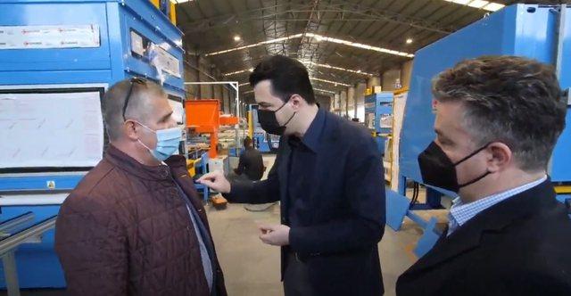 """Basha nga Durrësi:  """"Do mbështesim bizneset dhe jo"""
