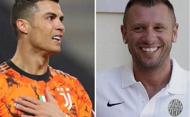 Cassano: Cristiano Ronaldo ka qenë një dështim te Juventusi