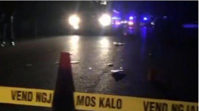 Aksidentohet rëndë një motorist  në Rinas, makina