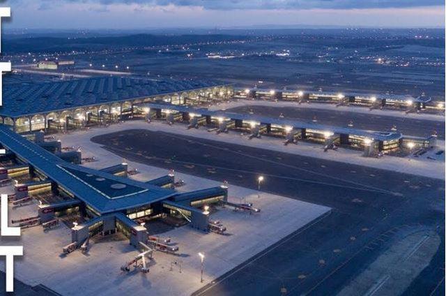 Më i madhi në botë, aeroporti i Stambollit merr kryesimin në