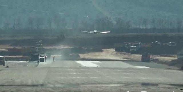 Testohet pista, avioni nuk prek në tokë në aeroportin e