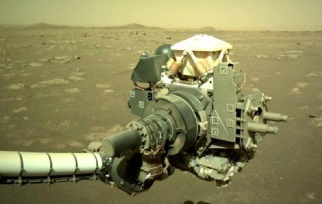 Regjistrohet zhurma e cuditshme në Mars