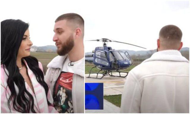 """Lekët e helikopterit i pagova unë"""", Princi i """"Për'puthen"""" zbulon nëse  Jasmina gënjen - Showbiz"""