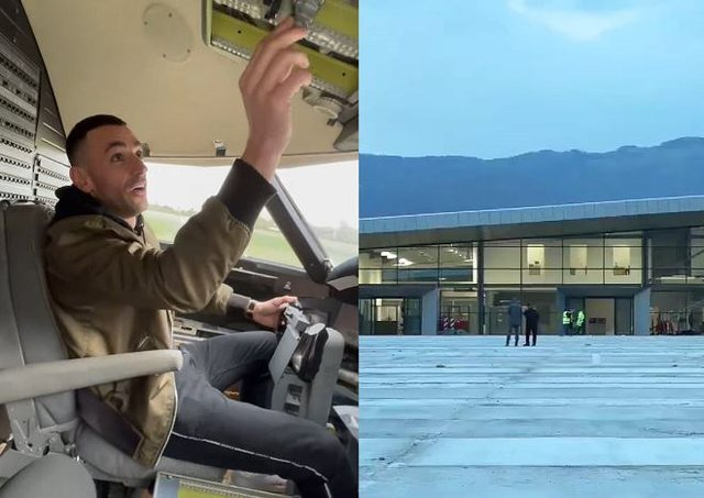 Stresi publikon video nga avioni: Do ta ulim në Kukës më 18