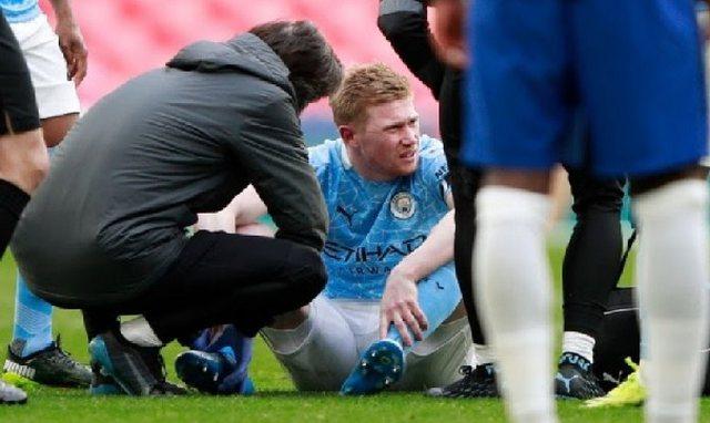 Lëndohet De Bruyne, Guardiola flet i shqetësuar