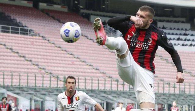 Milan i vuajtur por që kontrolloi ndeshjen, autogoli i Genoas i dha fitoren