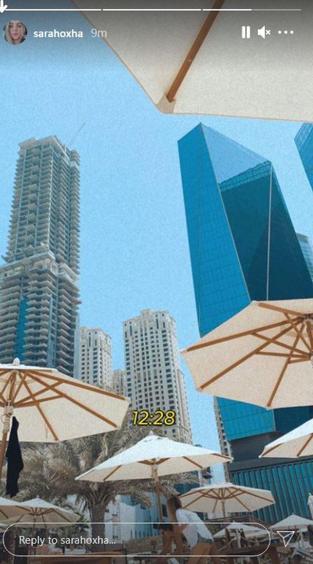 Poem Blu kalon pushimet e para në Dubai, Sara Hoxha publikon pamjet