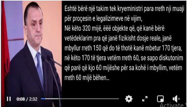 """Gazetari nxjerr përgjimin e Lames, """"Mos tregoni se 100 mijë"""