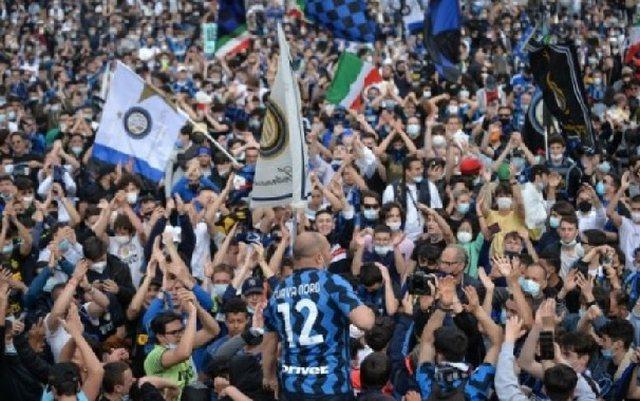 Festa e titullit të Serisë A, Inter kritikohet se shkeli masat