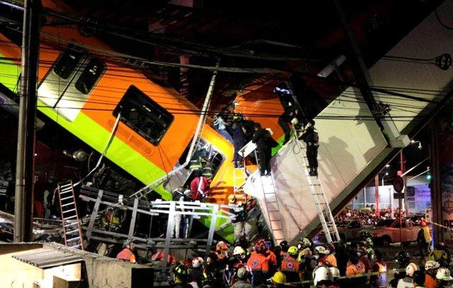 Rëndohet bilanci, 23 të vdekur nga shembja e metrosë në