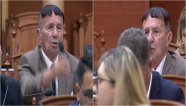 """Të qeshura në Kuvend, deputeti i opozitës """"e lëshon pa"""