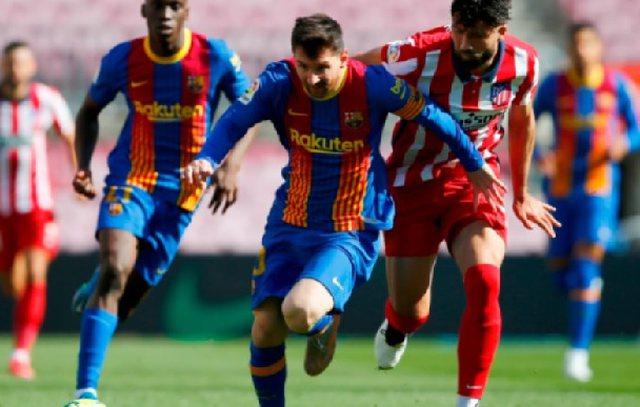 "Barcelona dhe Atletico ndahen pa gola në ""Camp Nou"""