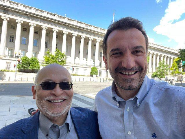 Veliaj takon Alexander Arvizun në Washington: Një mik i vjetër