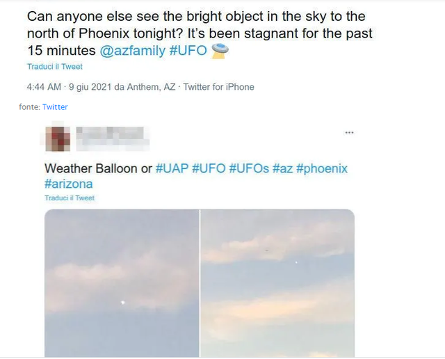 UFO në qiell? Fotot që çuditën botën