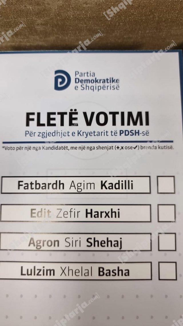 Zgjedhjet të dielën, kjo është fleta e votimit ku