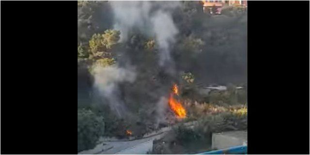 Zjarr te Kodër Vila në Durrës, flakët favorizohen nga era