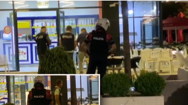 Të armatosur, pamjet e aksionit të RENEA-s në Vlorë,