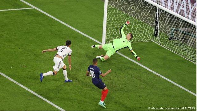 Franca tregon forcën edhe në Euro 2020, gjunjëzon Gjermaninë