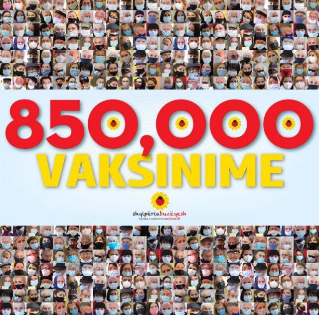 Rama nxjerr shifrat: 850 mijë persona të vaksinuar kundër COVID