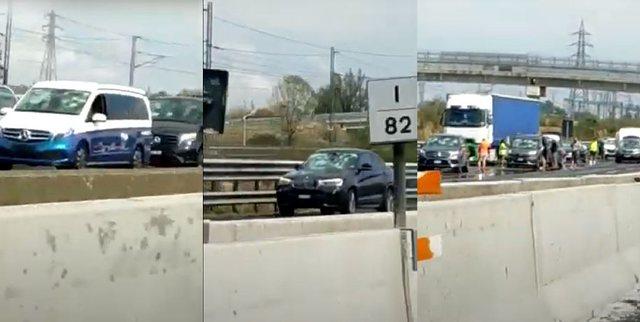 Bresheri shkatërron qindra makina në Itali, bllokohet autostrada