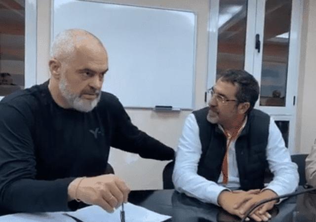 Riatdhesimi i familjeve shqiptare nga Siria, Edi Rama dhe Blendi