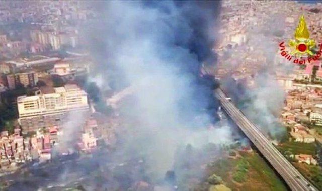 Mbi 160 vatra zjarri në Itali, dyshim për zjarrvënie të