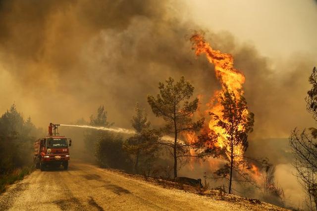 Publikohen imazhet satelitore nga zjarret masive në Turqi (FOTO)