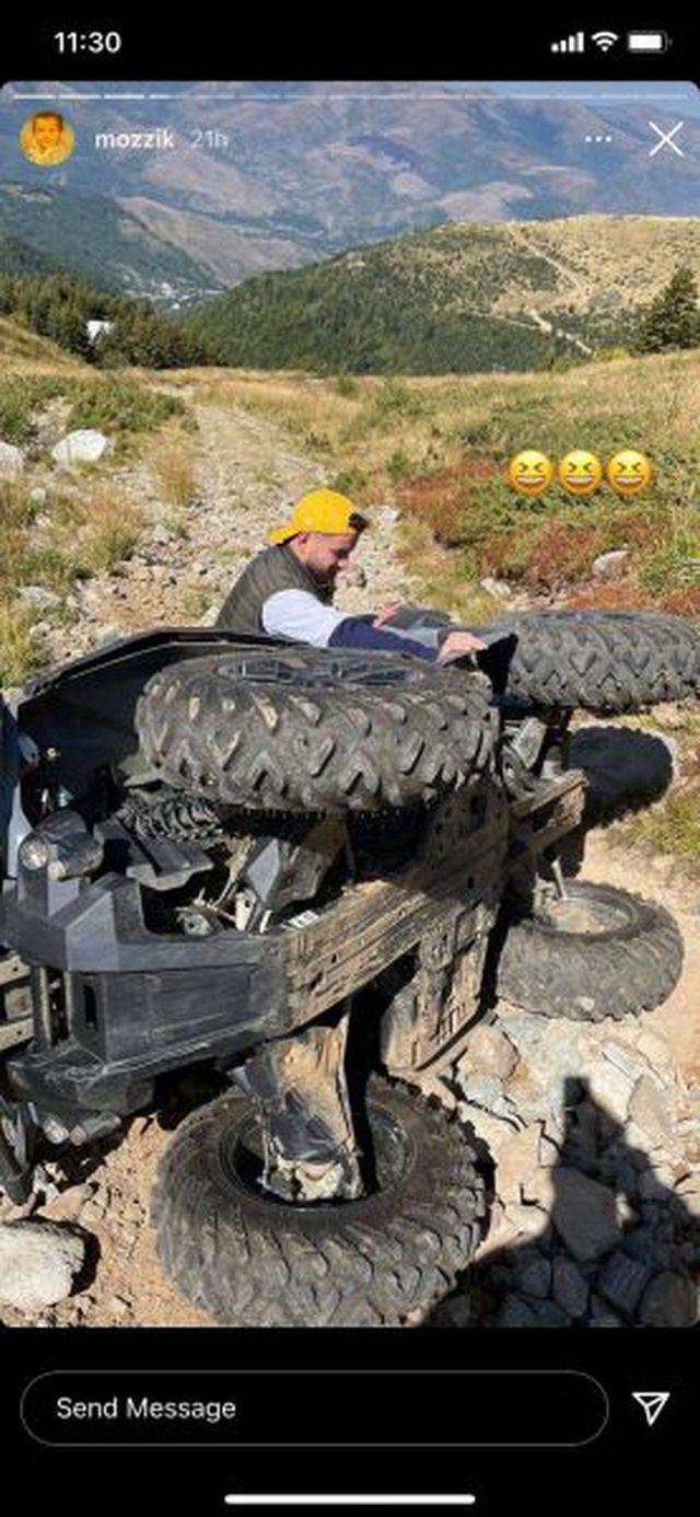Po bënte xhiro me motorçikletë, aksidentohet reperi kosovar
