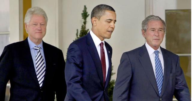 Tre ish-presidentët e SHBA rikthehen në skenë! Bush, Clinton dhe
