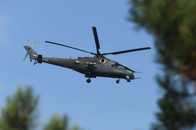 Provokon Serbia, helikopteret luftarakë të ushtrisë