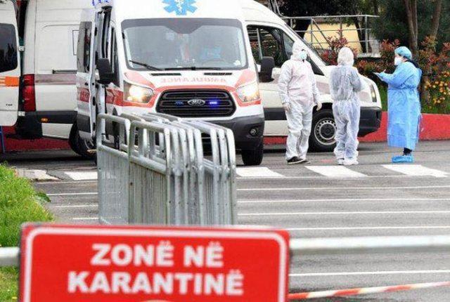 Rekord vdekjesh nga Covid në Shqipëri, 539 të infektuar në