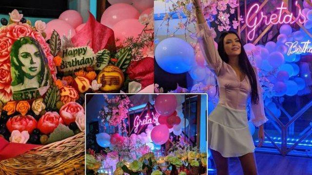 Foto/ Festoi 30-vjetorin, brenda ditëlindjes së veçantë
