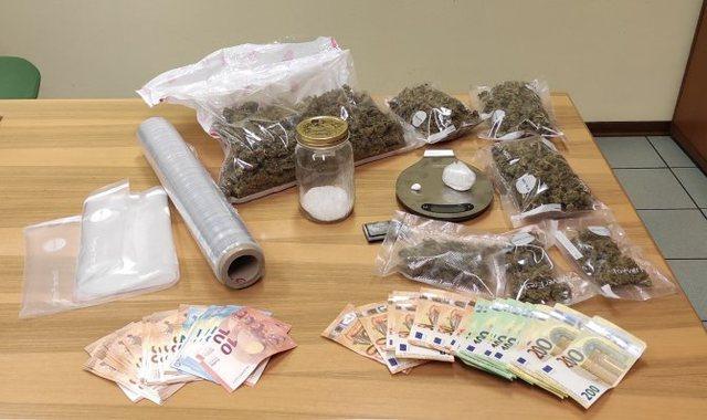 Në shtëpi iu sekuestruan kokainë e kanabis, arrestohet