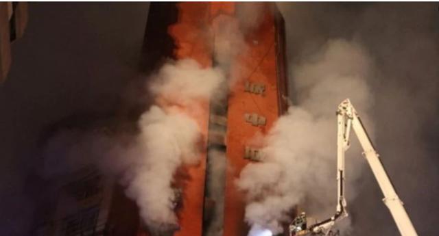 Zjarr në pallatin në Tajvan, shkatërrohen disa kate, 46 të