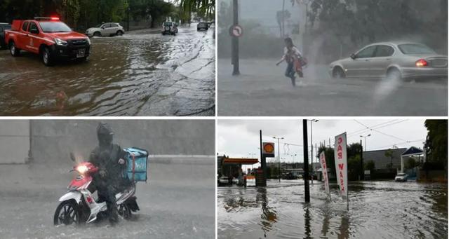 Moti i keq/ Shkolla dhe rrugë të mbyllura nga përmbytjet, Greqia