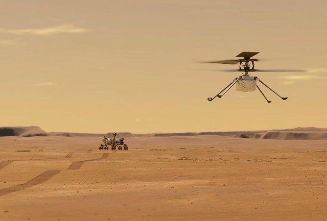 Arritje! NASA dërgon me sukses një mini-helikopter në planetin