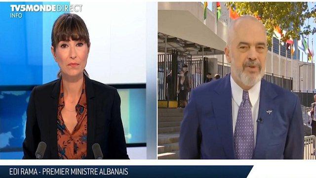 Rama intervistë për televizionin francez TV5MONDE, tregon sfidat e