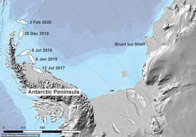 'Zhduket' ajsbergu më i madh në botë