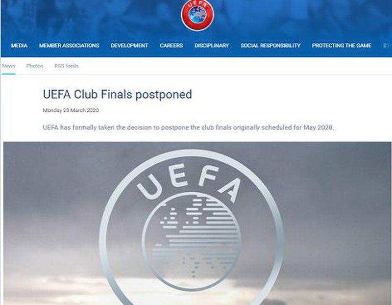Zyrtare, UEFA shtyn finalet e Champions dhe Europa League