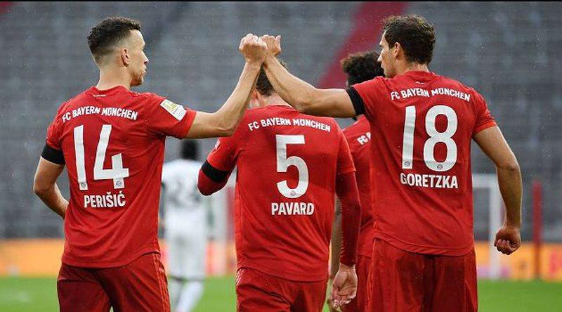 Bayerni makineri golash, shkatërron Eintrachtin 5-2