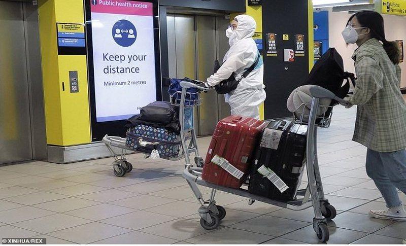 Britania duke u izoluar gradualisht, shkak shtimi i lartë i infektimeve