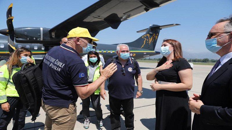 Italia ndihmon Shqipërinë me një ekip mjekësor, Manastirliu: