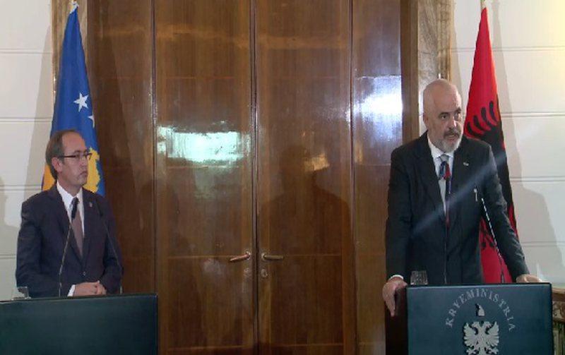 Rama: Mbledhje të përbashkët me qeverinë e Kosovës