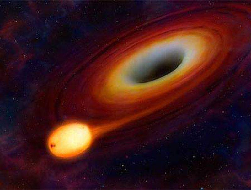 Përpin gjithçka/ Zbulohet vrima e zezë gjigante, 8 mijë