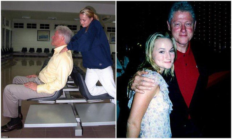 Zbulohen fotot nga skandali seksual i Presidentit Clinton