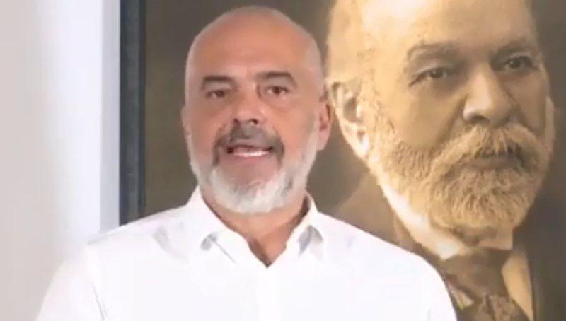 Zgjedhjet në Mal të Zi, Rama përshëndet në serbisht dhe