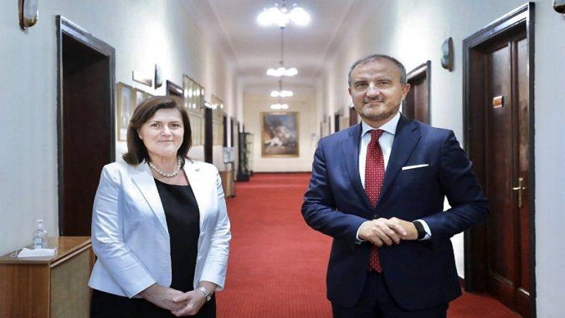 Soreca takim me kryetaren e KED: BE mbështet Shqipërinë për
