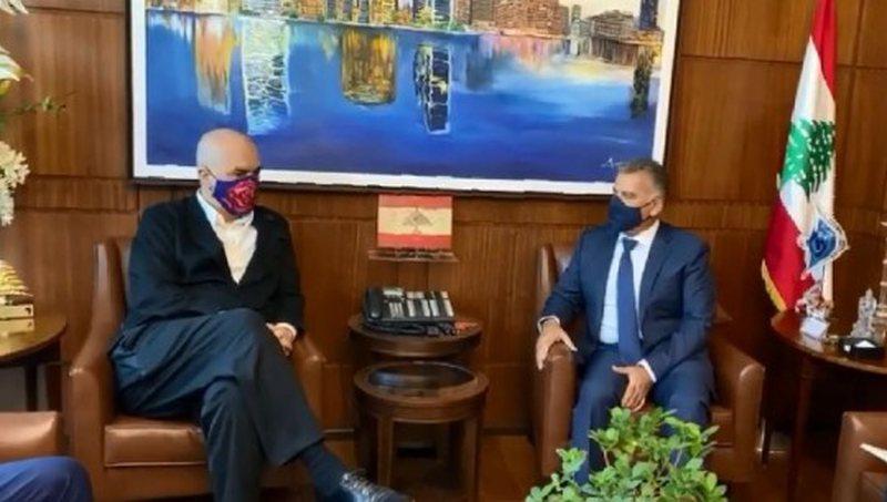 Rama takim me gjeneralin në Beirut: Për të konfirmuar sy më